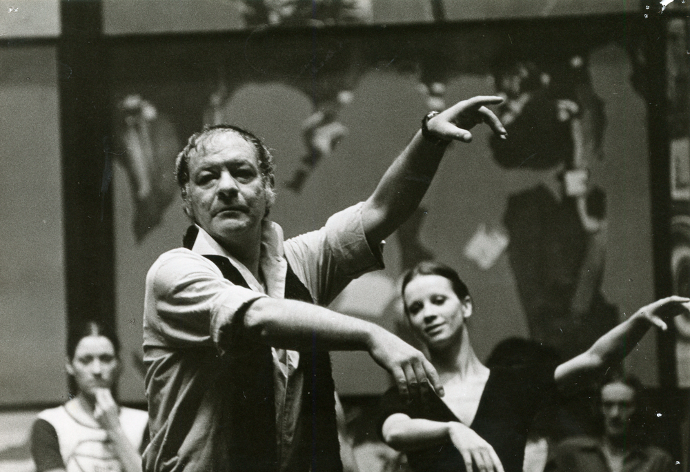Octavio Cintolesi, fundador del Ballet de Santiago