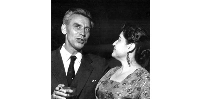 Ernst Uthoff y Margot Loyola