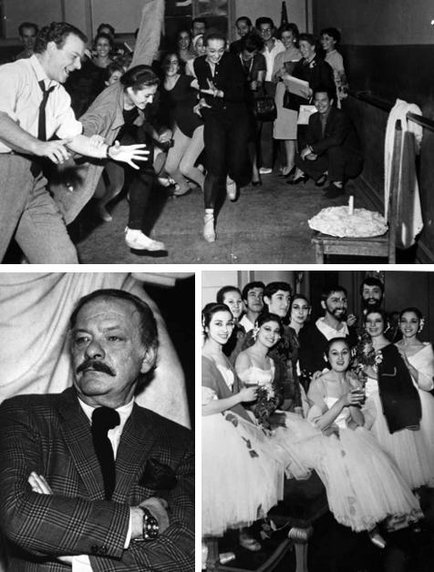Octavio Cintolesi y el Ballet de Arte Moderno
