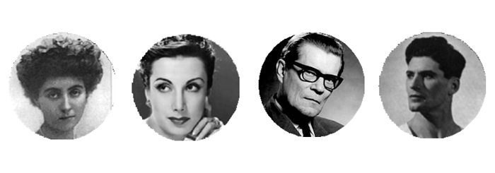 Margaret Dale, Tamara Taumanova, Nicolás Beriosoff, Michael Somes